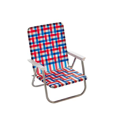 ローンチェア(LAWN CHAIR) 椅子 ハイバックビーチチェア 62520 Old Glory (Men's、Lady's)