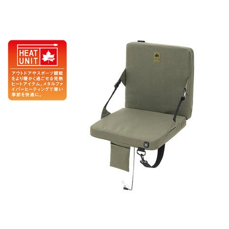 ロゴス(LOGOS) チェア ヒートユニット 背付クッションシート 84200040 (Men's、Lady's)
