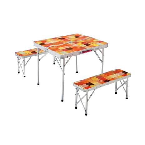 コールマン(Coleman) ナチュラルモザイクTMファミリーリビングセット ミニプラス テーブル 椅子 2000026758 キャンプ アウトドア レジャー