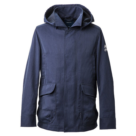 ホールアース(Whole Earth) MENS FLAME PROOF JACKET WE27JN67ネイビー (Men's)