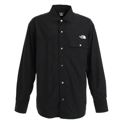 3 980円ご購入で送料無料 ポイント5倍~ 2 25日限定 要エントリー ノースフェイス THE NORTH 送料無料限定セール中 日本産 レディース K メンズ NR11961 FACE ロングスリーブヌプシシャツ