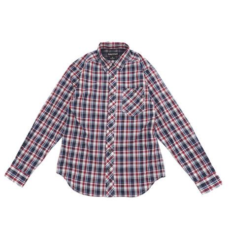 マーモット(Marmot) キューディーチェックロングスリーブシャツ TOMNJB76 NV (Men's)
