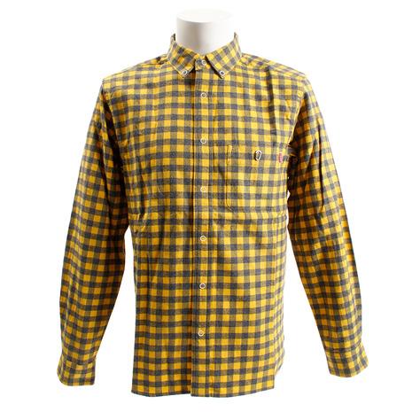 チャムス(CHUMS) ネルシャツ CH02-1090 Yellow (Men's)