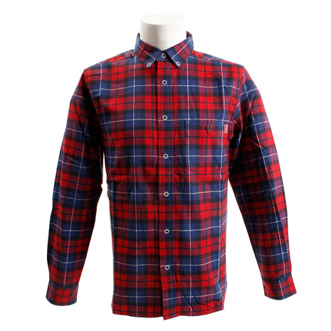 チャムス(CHUMS) ネルシャツ CH02-1090 Red (Men's)