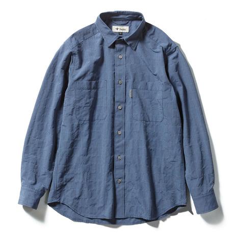 フォックスファイヤー(Foxfire) Cシールドプレザントシャツ 5212072-040 (Men's)