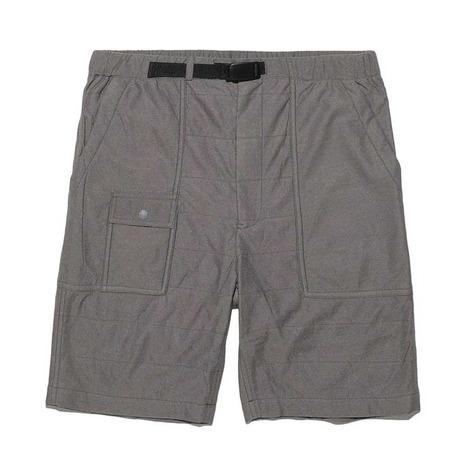 スノーピーク(snow peak) フレキシブルインサレーションショーツ FlexibleInsulated Shorts SW-17SU0160GY メンズ ショートパンツ (Men's)