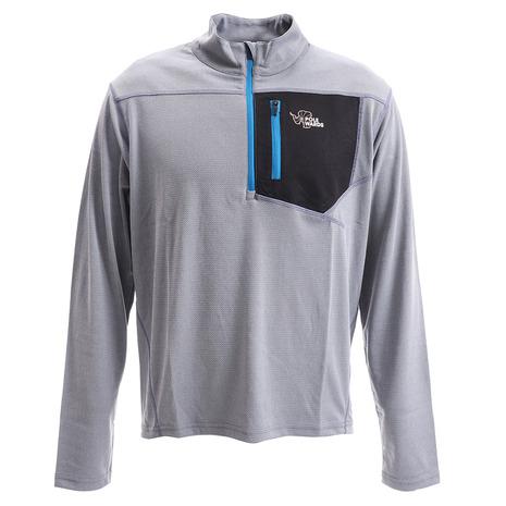 ポールワーズ(POLEWARDS) ジップシャツ PW27JB28MGRY (Men's)