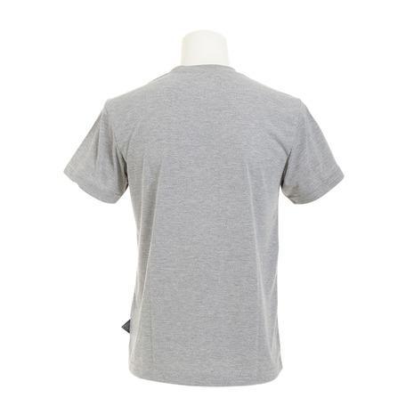 ホールアース(Whole Earth) 半袖Tシャツ WES17M02-5704 GRY (Men's)