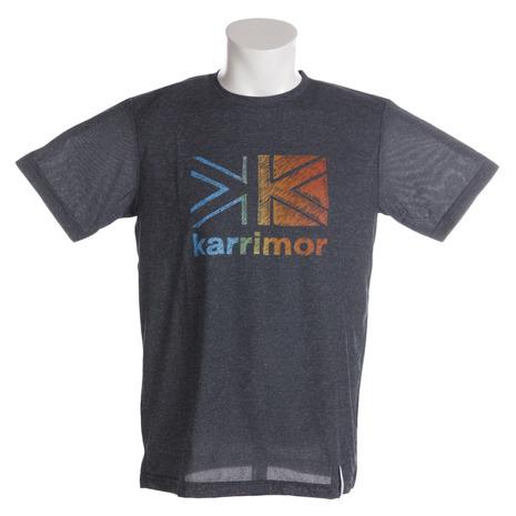 <title>キャンプ トレッキング アウトドア用品のL-Breath エルブレス カリマー karrimor 定番の人気シリーズPOINT(ポイント)入荷 ロゴ 半袖Tシャツ 51807M182-Black Men's</title>