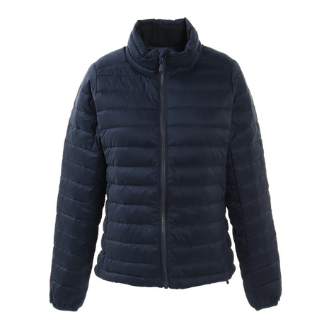 ホールアース(Whole Earth) WOMENS LIGHT DOWN JACKET WE28HL18ネイビー (Lady's)
