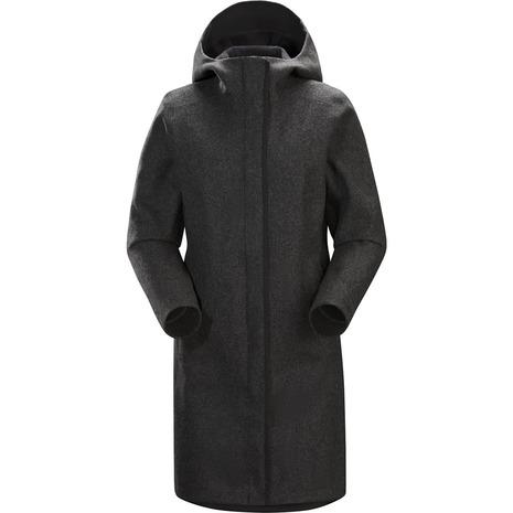 アークテリクス(ARC'TERYX) Embra Coat エンブラ コート レディース ソフトシェルコート L06937100 Black Heather (Lady's)