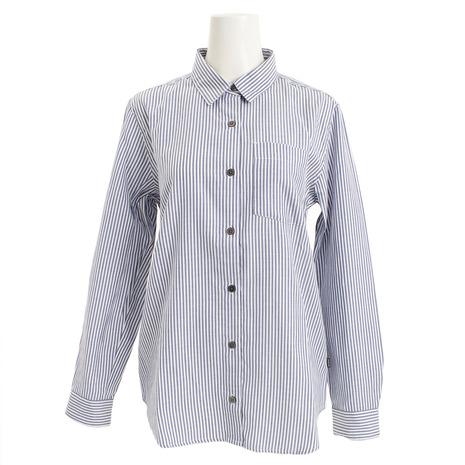 AIGLE DFT ベーシックストライプシャツ ZCF011J-175 (Lady's)