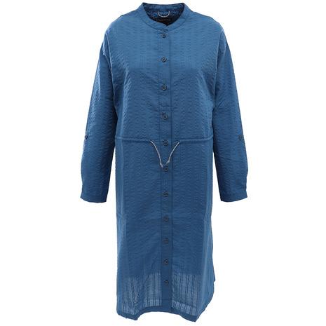 マーモット(Marmot) シアサッカーシャツ TOWPJB76YY MRB (Lady's)