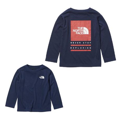 アウトレットセール 特集 ノースフェイス THE NORTH FACE バグフリーロゴ NTJ12134 NY 長袖Tシャツ おすすめ キッズ