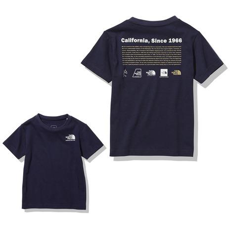 ノースフェイス THE NORTH FACE ヒストリカルロゴ 受賞店 NY キッズ 開店祝い 半袖Tシャツ NTJ32143