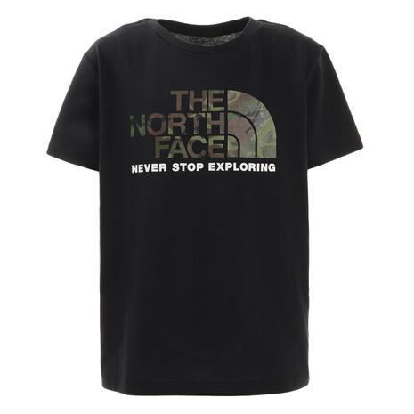 18%OFF ノースフェイス THE NORTH FACE カモ K キッズ バーゲンセール ロゴ 半袖Tシャツ NTJ32145