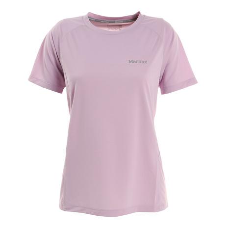 選び方自由 2点以上で5%OFFクーポン☆9 在庫一掃 11迄 マーモット セール特価 Marmot 半袖Tシャツ アセントハーフスリーブTシャツ レディース TOWRJA40 LIL
