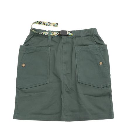 チャムス 激安卸販売新品 CHUMS ストレッチキャンピングスカート 35%OFF CH18-1120-M001 レディース