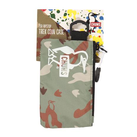 キャンプ トレッキング アウトドア用品のL-Breath 新色追加して再販 エルブレス キーケース 1万円以上ご購入で1000円OFFクーポン有 スーパーセール限定 チャムス レディース トレックコインケース CHUMS RS LB CH60-2653-Z097 メンズ 限定価格セール