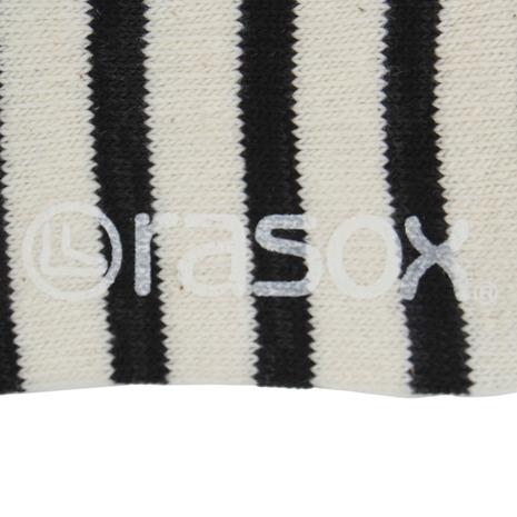 ラソックス コットンボーダー ロウ ソックス CA141SN01-110 (Men's)
