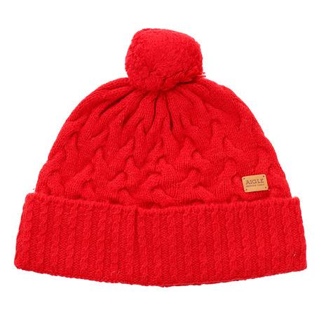 AIGLE ケーブルニット帽 ZRKI713-008 (Men's)