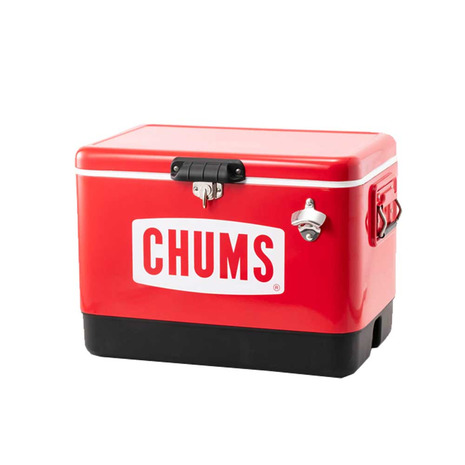 チャムス(CHUMS) チャムススチールクーラーボックス54L アウトドア キャンプ用品 CH62-1283 (Men's、Lady's、Jr)