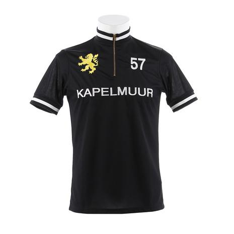 カペルミュール(KAPELMUUR) 半袖レトロジャージ BK kphs006 Black (Men's)