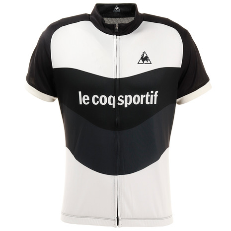 ルコック スポルティフ(Lecoq Sportif) エッセンシャル半袖ジャージ QCMNGA47 BLK (Men's)