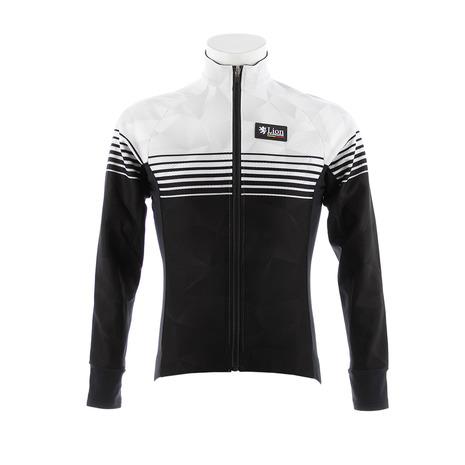カペルミュール(KAPELMUUR) コンペティションジャケットEVO スピードライン ホワイト×ブラック lijk017 (Men's)