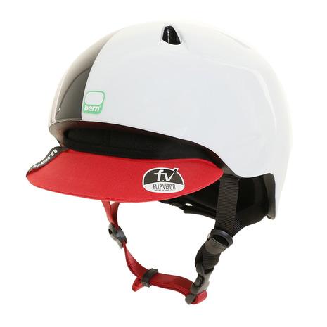バーン(BERN) NINO WHT ヘルメット BE-VJBGWTRV (Jr)