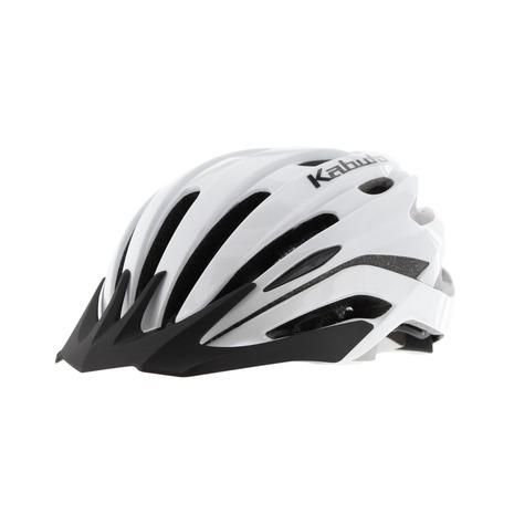 OGK-KABUTO REZZA パールホワイト PWH-ML 自転車 ヘルメット