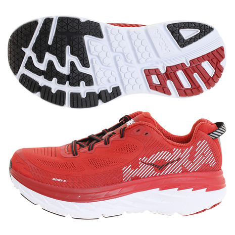 HOKA ボンダイ Bondi 5 1014757-HRRHR (Men's)