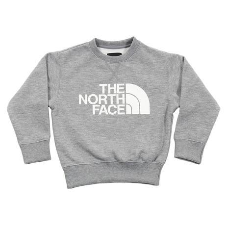 ノースフェイス(THE NORTH FACE) SWEAT LOGO CREW NTJ11721 ZZ (Jr)