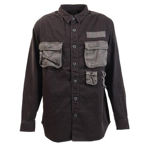 クリフメイヤー(KRIFF MAYER) ドカットシャツ 1924004-BLACK (Men's)