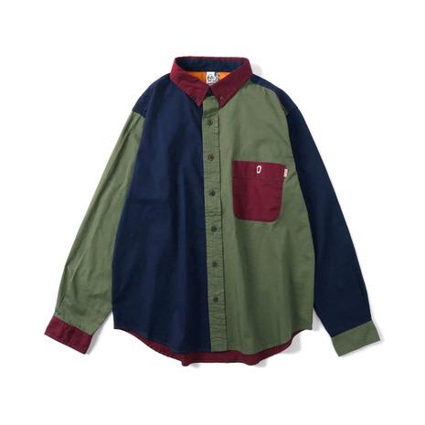 チャムス(CHUMS) ボタンダウン クレイジーシャツ CH02-1129-M001 (Men's)