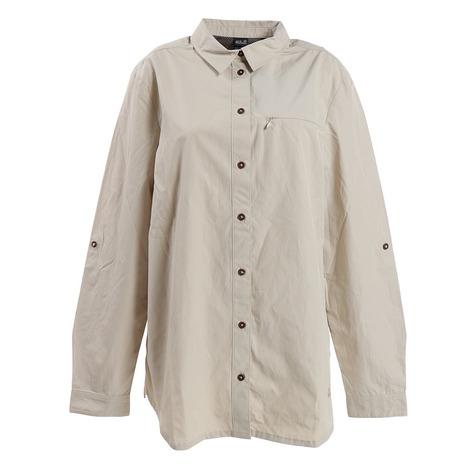 ジャックウルフスキン(JackWolfskin) レイクサイドロールアップシャツ 1403092-6260-20SS (Lady's)
