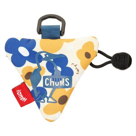 クーポン配布中 スーパーセール期間限定 店内限界値引き中&セルフラッピング無料 チャムス CHUMS 財布 レディース チープ メンズ エコトライアングルコインケースCH60-2485-Z151
