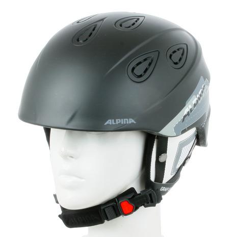 アルピナ(ALPINA) 2016-2017 GRAP 2.0 A9085 338 ヘルメット ブラック/グレイマット (Men's、Lady's)