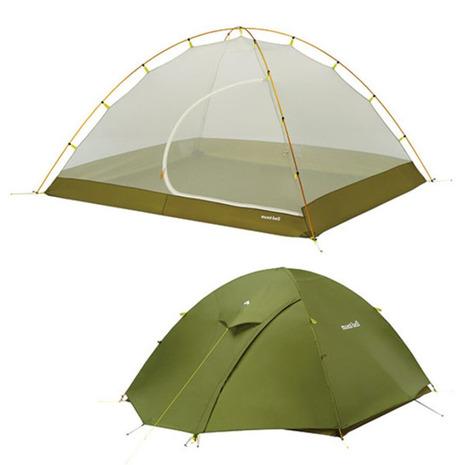 モンベル(mont-bell) レラドーム 4型 1122530 THYM キャンプ用品 テント (Men's、Lady's)