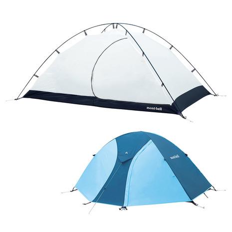 モンベル(mont-bell) クロノスドーム 2型 1122491 SKB キャンプ用品 テント (Men's、Lady's)