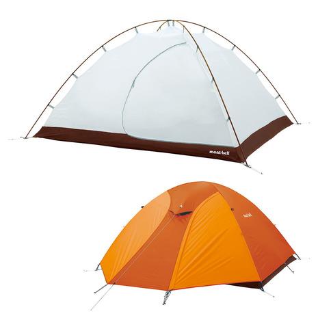 モンベル(mont-bell) クロノスドーム 4型 1122492 GDOG キャンプ用品 テント (Men's、Lady's)