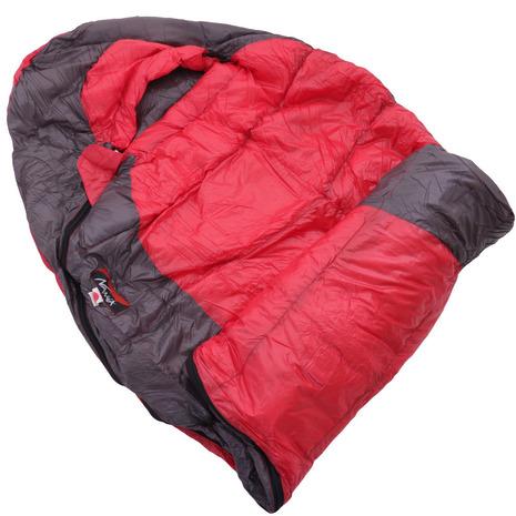 ナンガ ウルトラドライダウンバッグ280DX UDD BAG 280DX ショート RED UDD10 キャンプ用品 シュラフ 寝袋 (Men's、Lady's)