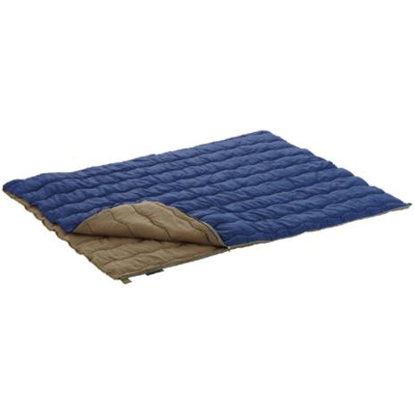 ロゴス(LOGOS) 2in1・Wサイズ丸洗い寝袋・10 72600670 キャンプ用品 シュラフ 寝袋 (Men's、Lady's)