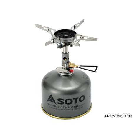 SOTO マイクロレギュレーターストーブ ウインドマスター SOD-310 キャンプ用品 ストーブ (Men's、Lady's)