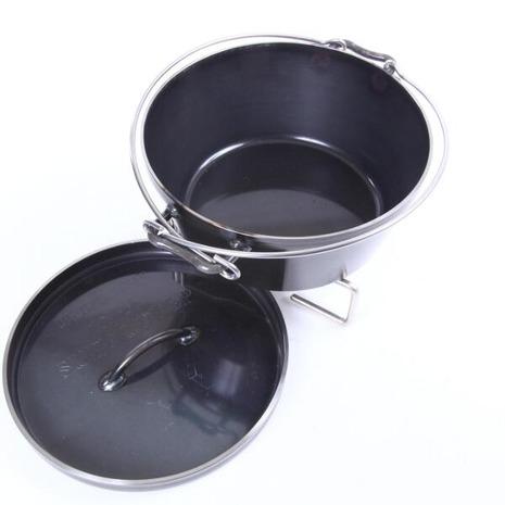ユニフレーム(UNIFLAME) ダッチオーブン スーパーディープ 10インチ 660973 キャンプ バーベキュー 調理器具 (Men's、Lady's)