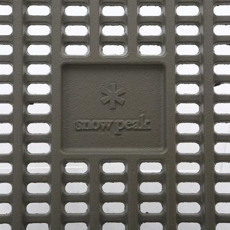 スノーピーク(snow peak) 炭床Pro S Fireplace Cast Iron Coal Bed S ST-031S キャンプ バーベキュー 焚火台 (Men's、Lady's)