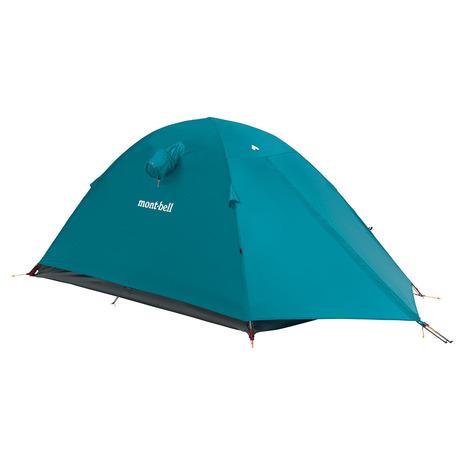 モンベル(mont-bell) ステラリッジ テント2 フライシート ピーコック 1122537 PE キャンプ用品 テント フライシート (Men's、Lady's)
