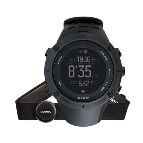 スント(SUUNTO) アンビット3 ピーク ブラック HR Ambit3 Peak Black HR SS020674000 腕時計 GPS 心拍計 (Men's、Lady's)