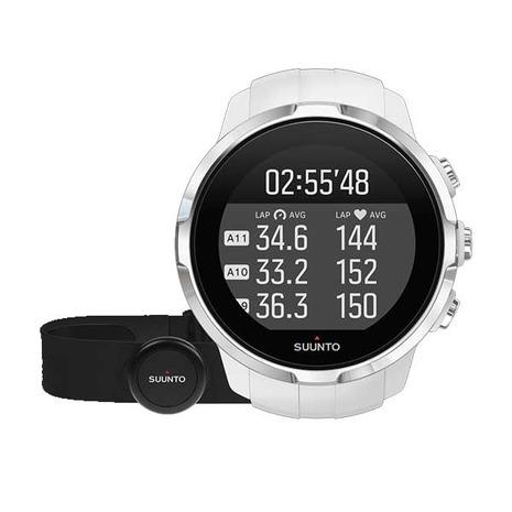 スント(SUUNTO) スント スパルタン スポーツ ホワイト HR SUUNTO SPARTAN SPORT WHITE HR SS022650000 ハートレートベルト 腕時計 GPS (Men's、Lady's)