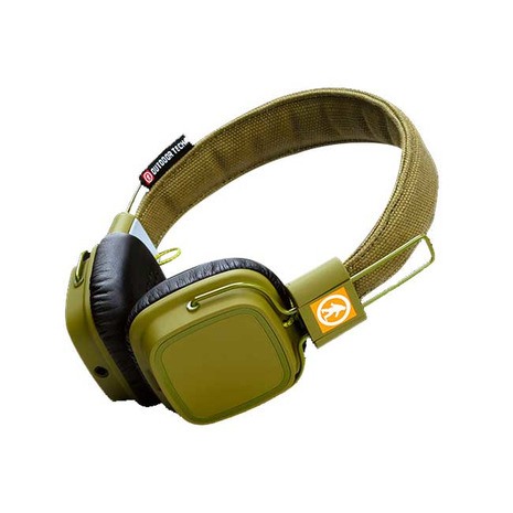 OUTDOOR TECHNOLOGY PRIVATES 12831 ARMY GREEN ワイヤレス ヘッドフォン (Men's、Lady's)